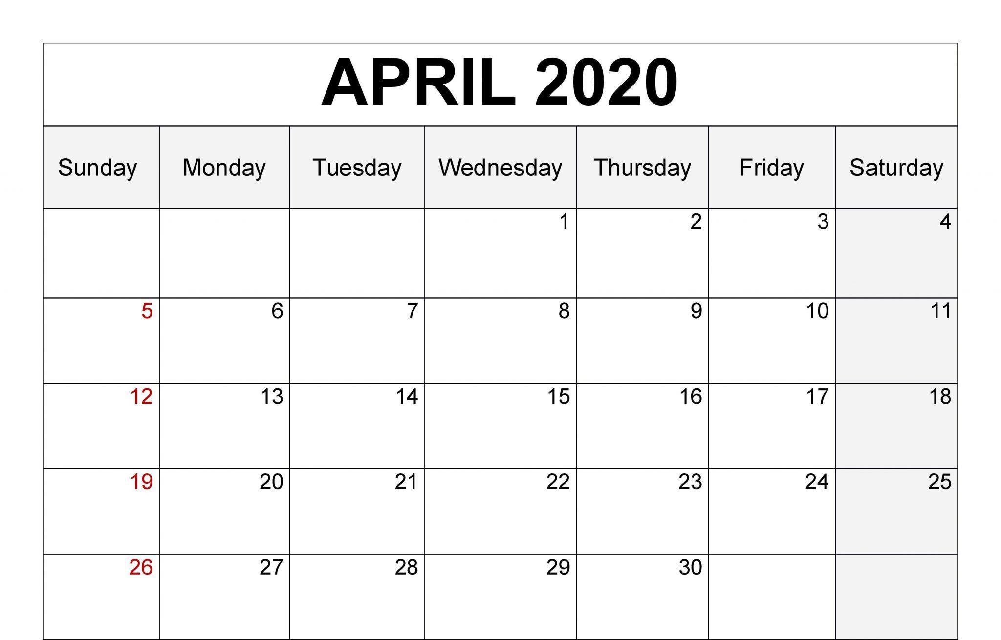 April 2020 Calendar JPG
