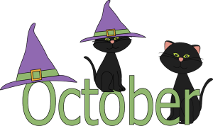 Cute October Clipart