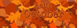 Hello October Facebook Cover Photos