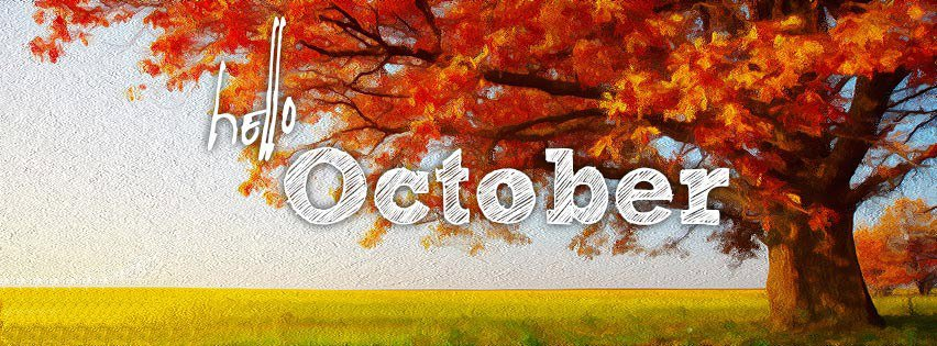 Hello October Facebook Cover