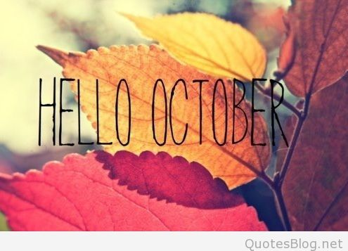 Hello October Quotes Pictures