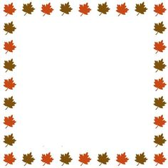 October Clipart Banner