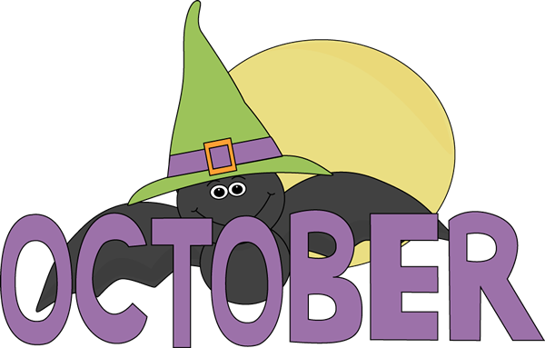 October Clipart Images Free