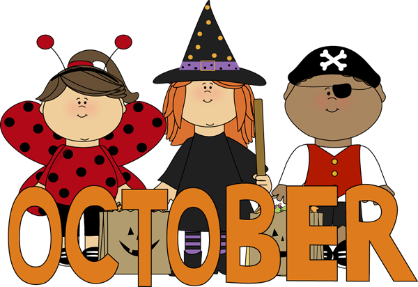 October Clipart Images
