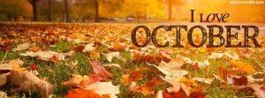 October Facebook Cover Photos