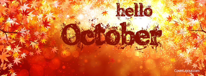 October Facebook Cover