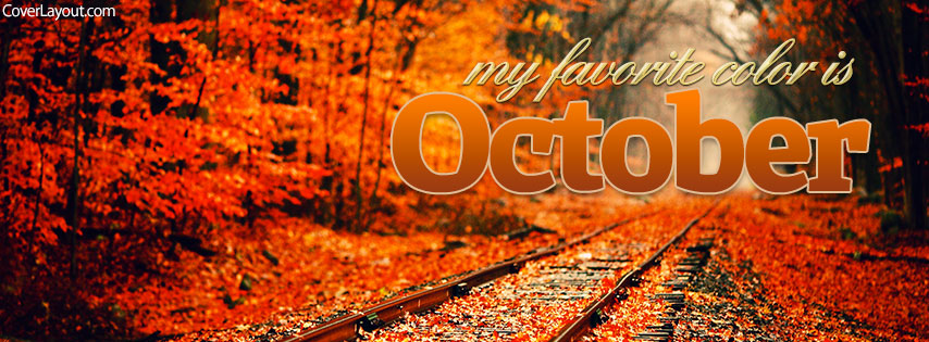 October Facebook Timeline Cover