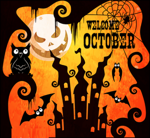 Welcome October Images Halloween