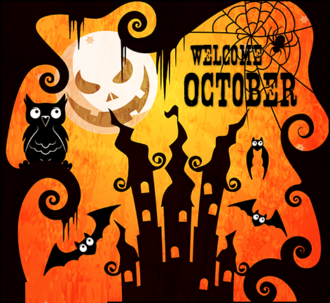 Welcome October Images Halloween
