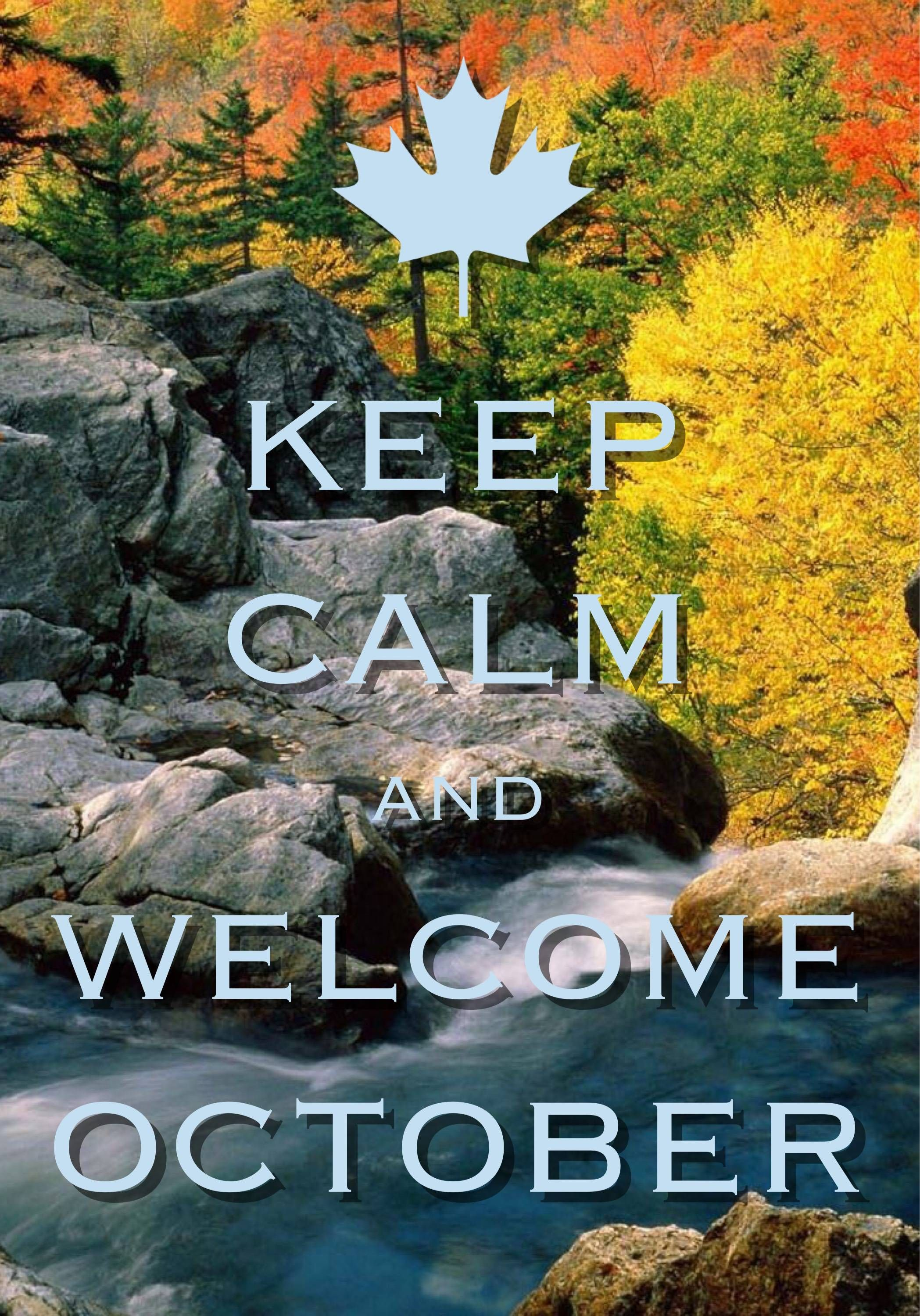Welcome October Images Keep Calm