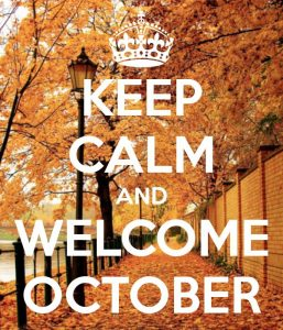 Welcome October Month