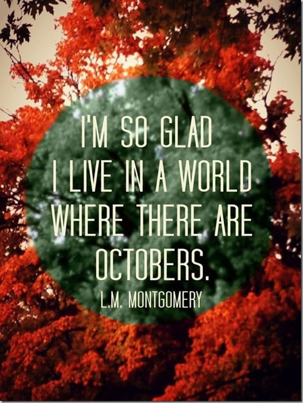 Welcome October Month Images Quotes