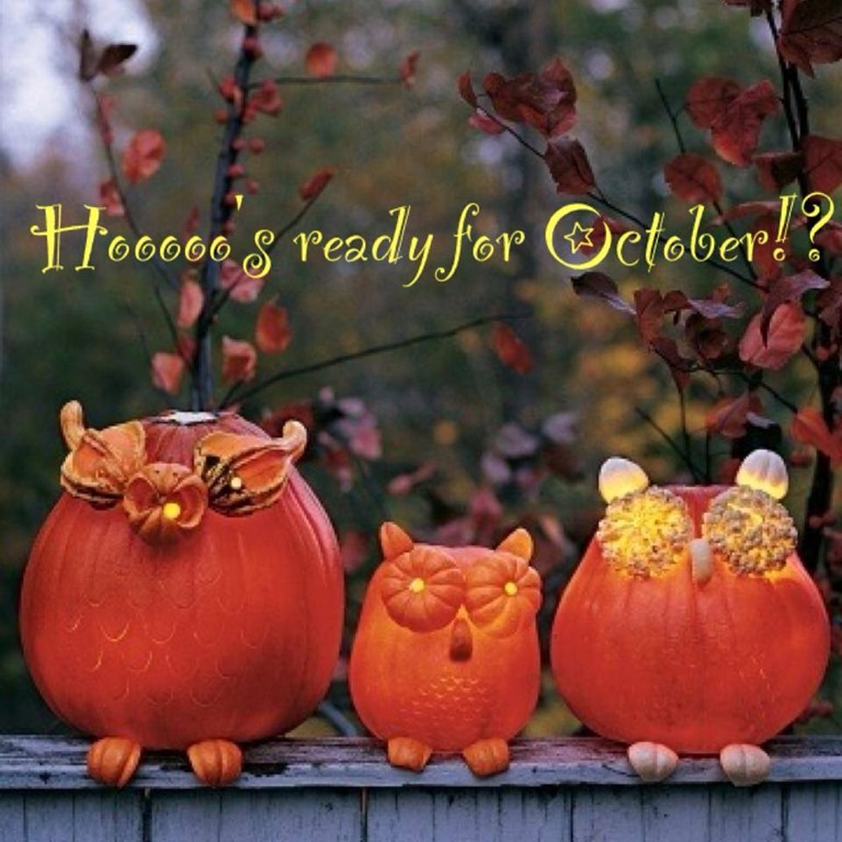 Welcome October Pinterest Images