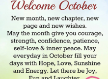 Welcome October Quotes For Inspiration