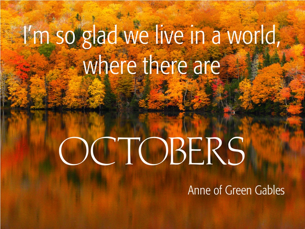 Welcome October Quotes Month
