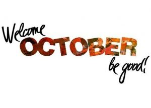 Welcome October Quotes and Sayings For Calendars