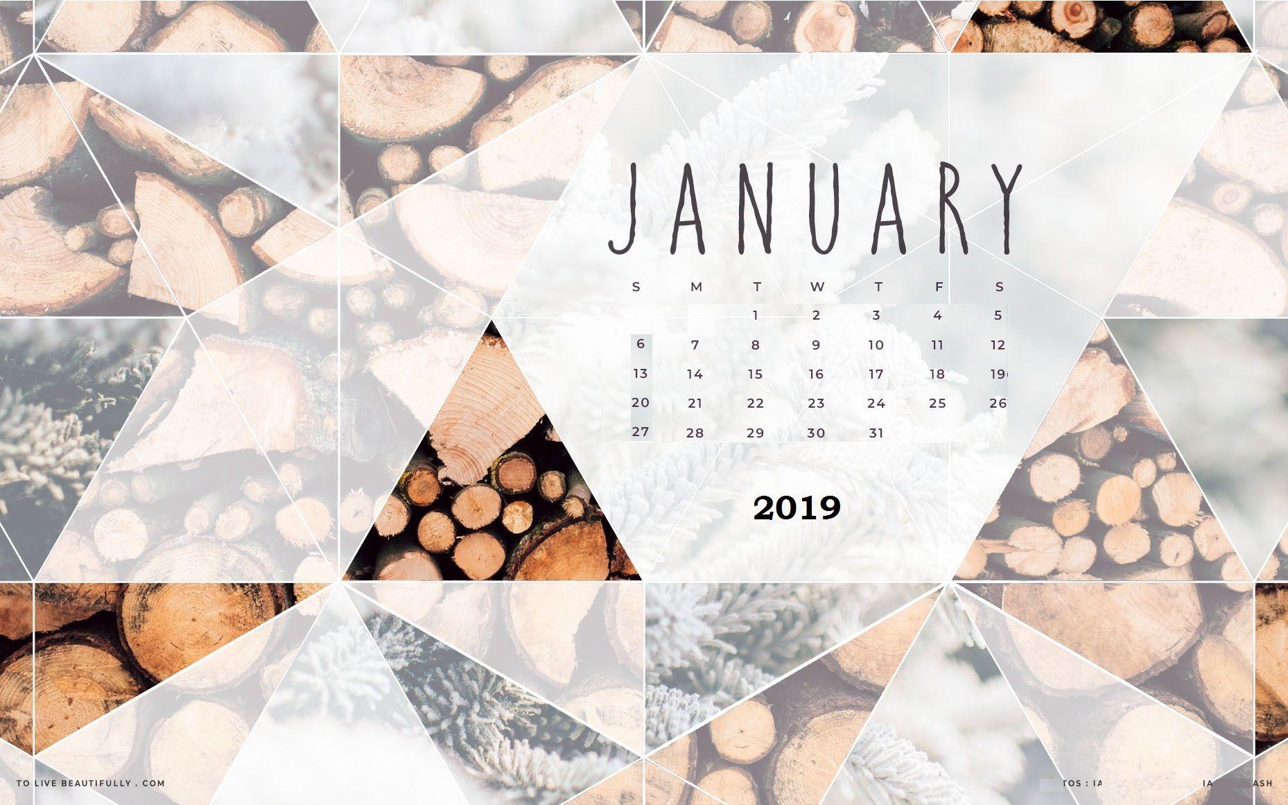 January 2019 Wall Calendar