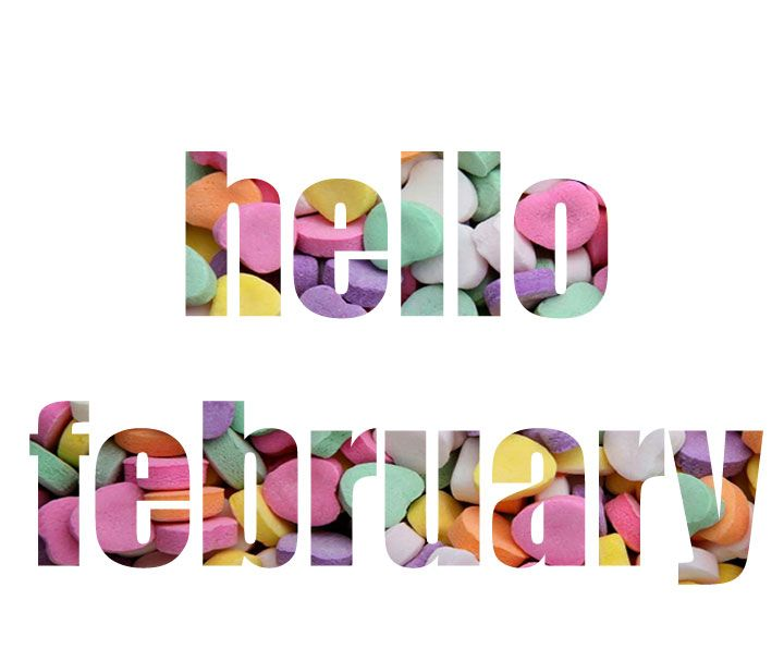 Hello February Clipart Images