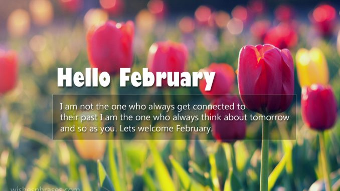 Hello February Quotes and Sayings