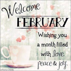 Hello February Sayings