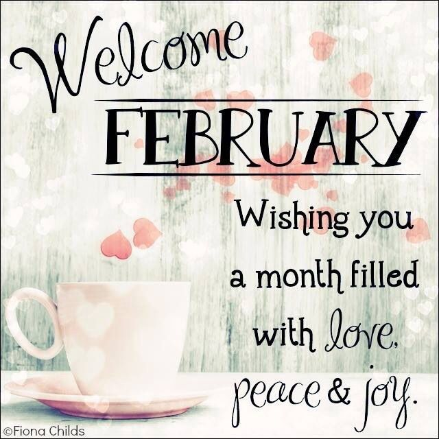 Hello February Sayings