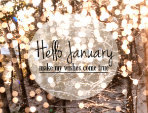 Hello January Images