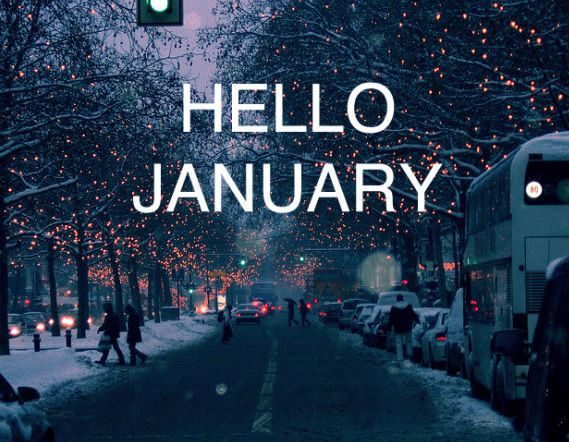 Hello January Images And Quotes on Pinterest