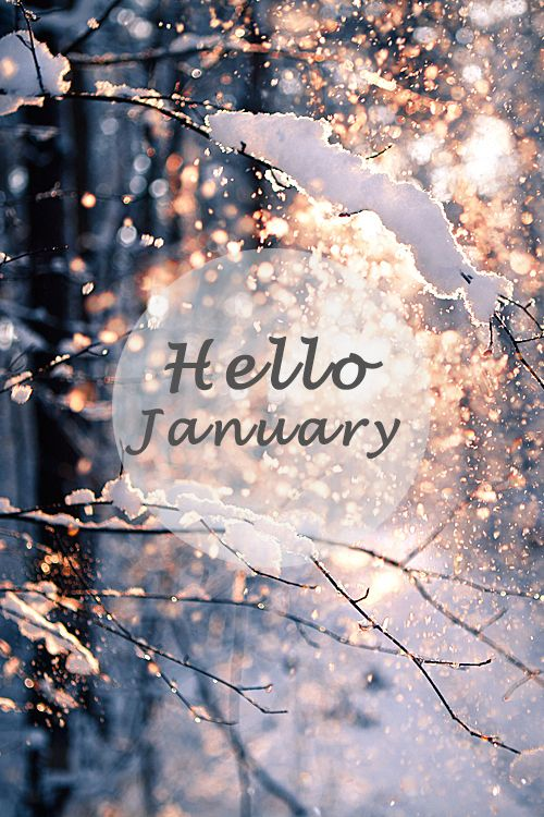 Hello January Images and Quotes