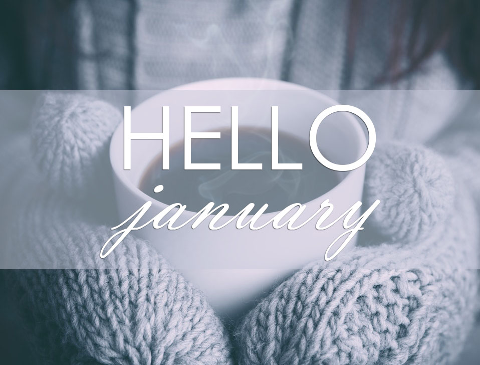 Hello January Sayings