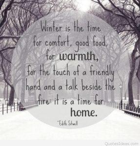 January Sayings