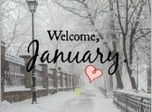 Welcome January Month Sayings