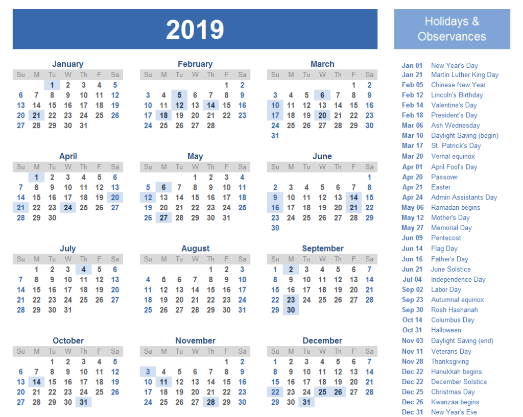 Free Printable 2019 Calendar With Uk Holidays.Yearly Editable Bank Holidays Calendar Uk Free Printable Calendar