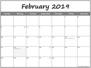 2019 Feb Moon Calendar Phases