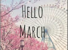 Hello March Images