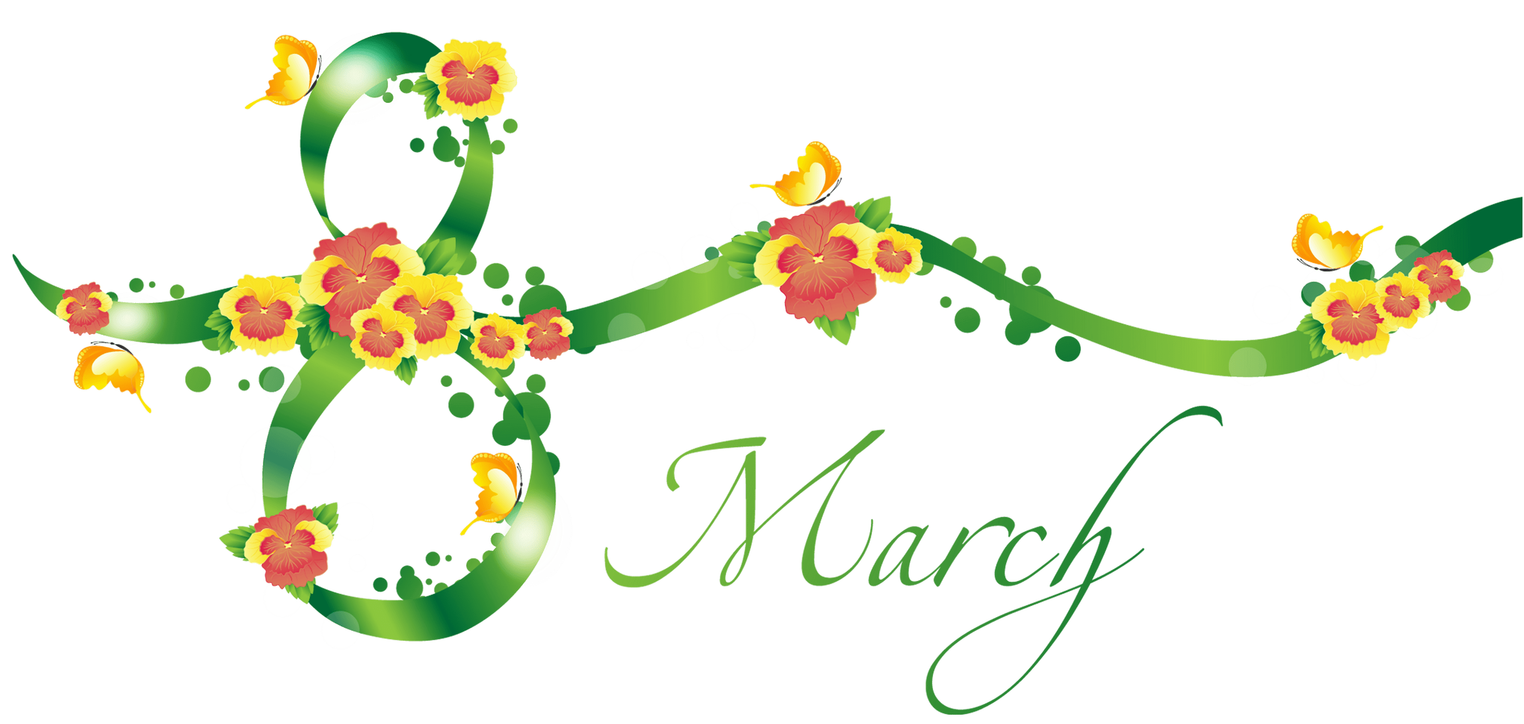 March Clipart for Facebook