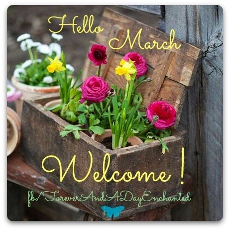 Welcome March Photos