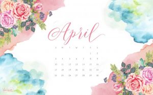 April 2019 Desktop Background Screensaver