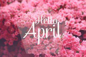 Hello April Images