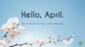 Hello April Images Quotes