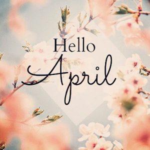 Hello April Photos