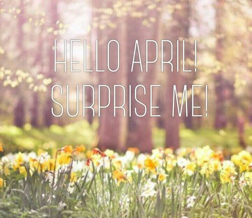 Hello April Pictures