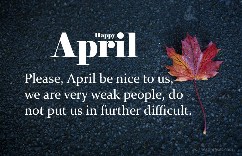 Hello April Wishes Messages Quotes
