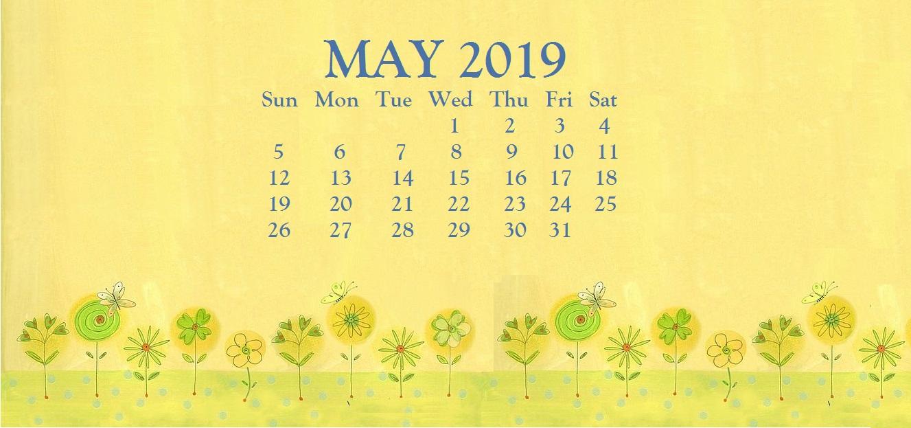Cute May 2019 Desktop Wallpaper