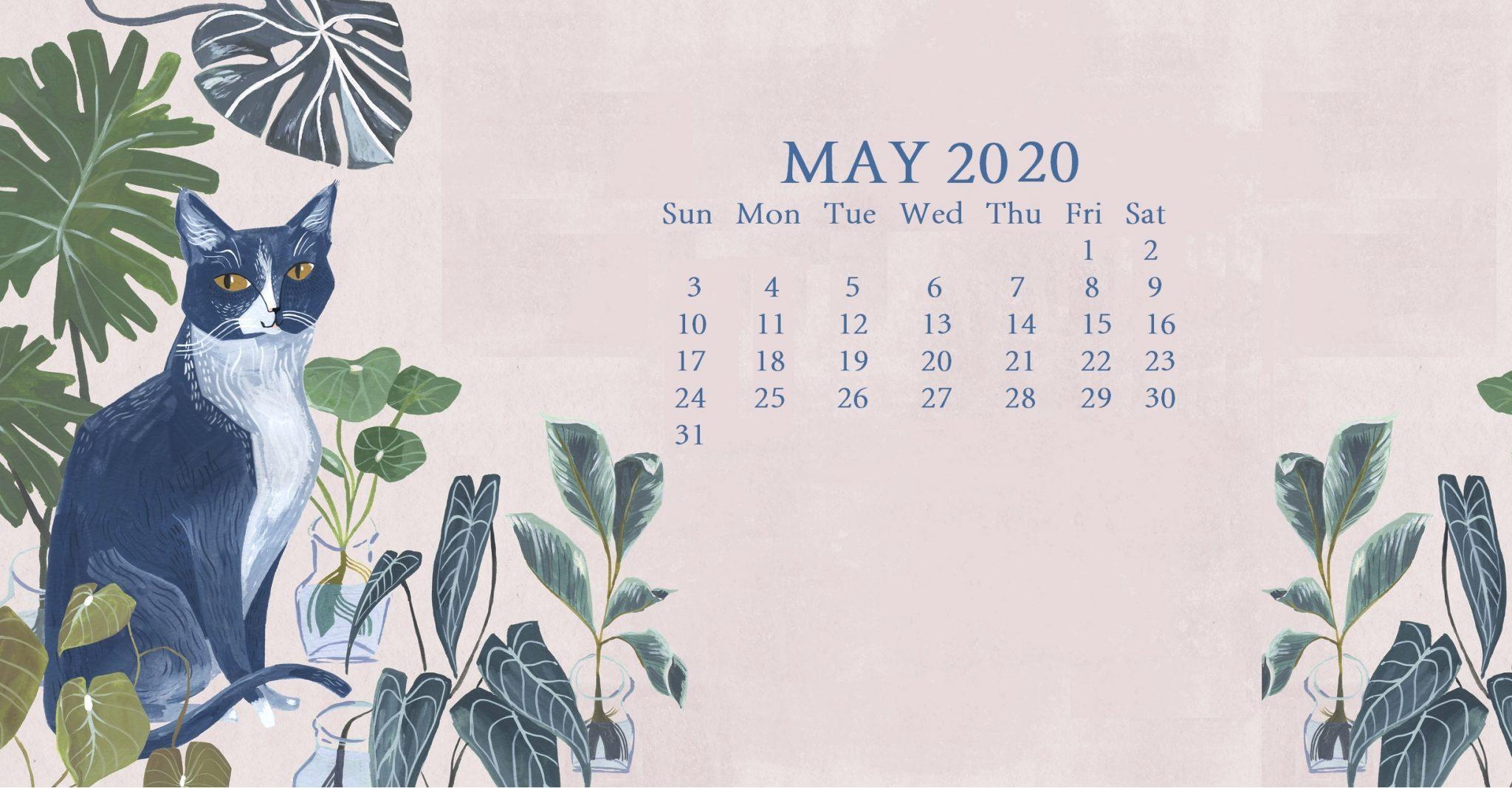 Floral May 2020 Screensaver