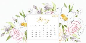 May 2019 Calendar Wallpaper For Desktop