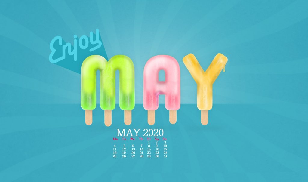 May 2020 Desktop Screensaver