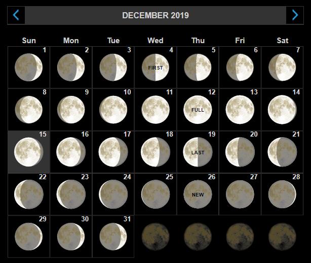 December 20119 Full Moon Calendar