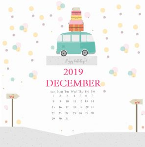iPhone December 2019 Background Wallpaper